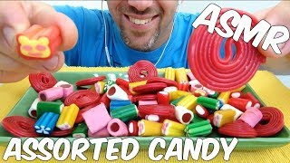 ASMR ASSORTED CANDY *RELAXING EATING SOUNDS* (NO TALKING)