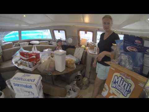 SE1 EP14. Provisioning the Catamaran. Sailing Trio Travels.