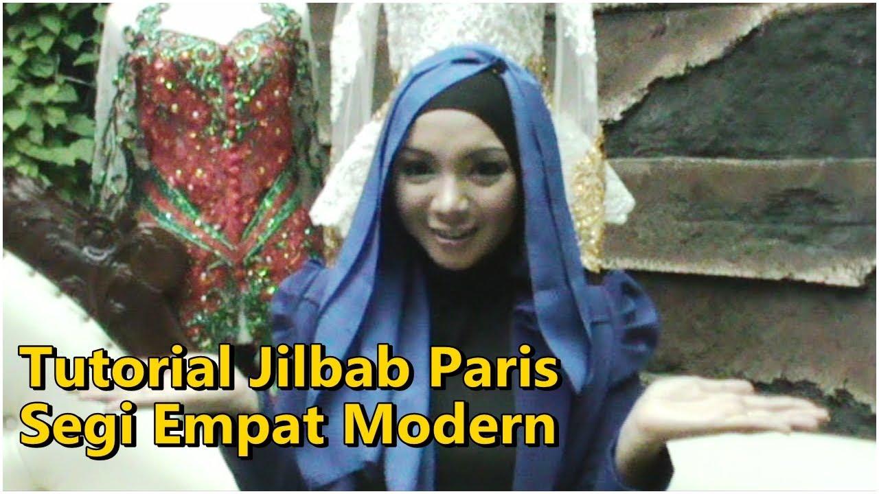 Tutorial Jilbab Paris Segi Empat Modern Yang Simple By Revi YouTube