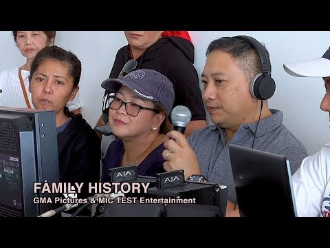 Family History - Carol Bunagan's first project with GMA Pictures - 동영상
