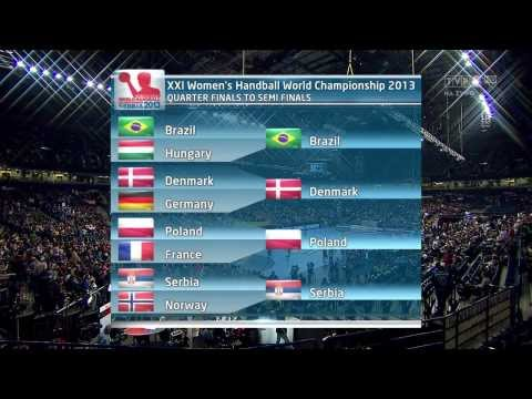 "Polska-Serbia 2013 World Women""s Handball Championship"