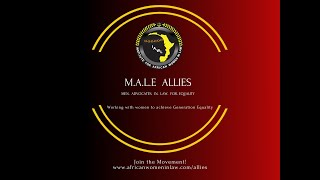 Institute for African Women in Law: M.A.L.E  ALLIES (Men Advocates in Law for Equality).