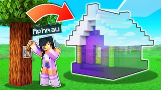 True INVISIBLE House PRANK In Minecraft!