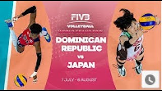 Dominican Republic vs Japan : Group 1 2017 FIVB Volleyball World Grand Prix