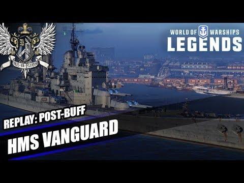 wows legends hms vanguard