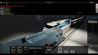 ROBLOX Rails Unlimited - Driving The Amtrak Coastliner Train