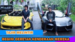 7 Artis Indonesia Yang Hobi Koleksi Mobil Mewah