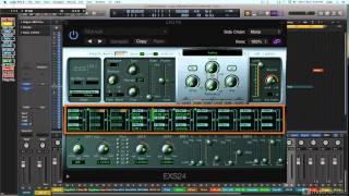 Logic Pro X 201: The EXS24: Sampling Explored - 6. Signal Flow