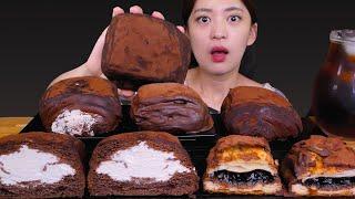 Chocolate cream bread더티빵 이름보고 …