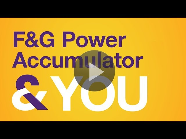The FG Power Accumulator & You