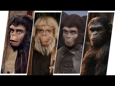 The Planet of Apes Evolution in Movies, Cartoons & TV.