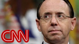 Source: Rod Rosenstein to leave Justice Department