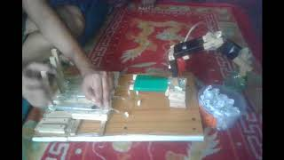 12 Years Boy Made Hydraulic Wooden JCB Within 2 Hours