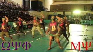 Omega Psi Phi 1st Run Stroll Competition Mu Psi Chapter 2013