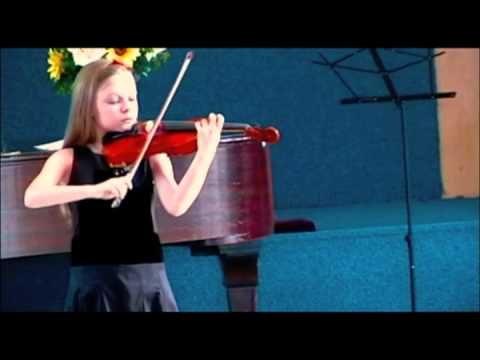 ursula parker playing violin