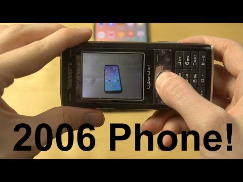 How Good Photos Can Sony Ericsson K800i Take? 2006 Phone!