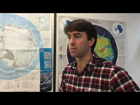 Dr Geoffrey Evatt reveals how the team will collect samples from Antarctica