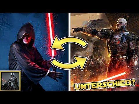 Star Wars Basis Community: Wie unterscheiden sich DUNKLE JEDI und SITH? [News, Community, Q&A]