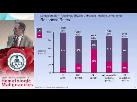 """Debate: A Case of Stage IV Follicular Lymphoma - Rituximab or """"Biological Doublet"""" Therapy"""