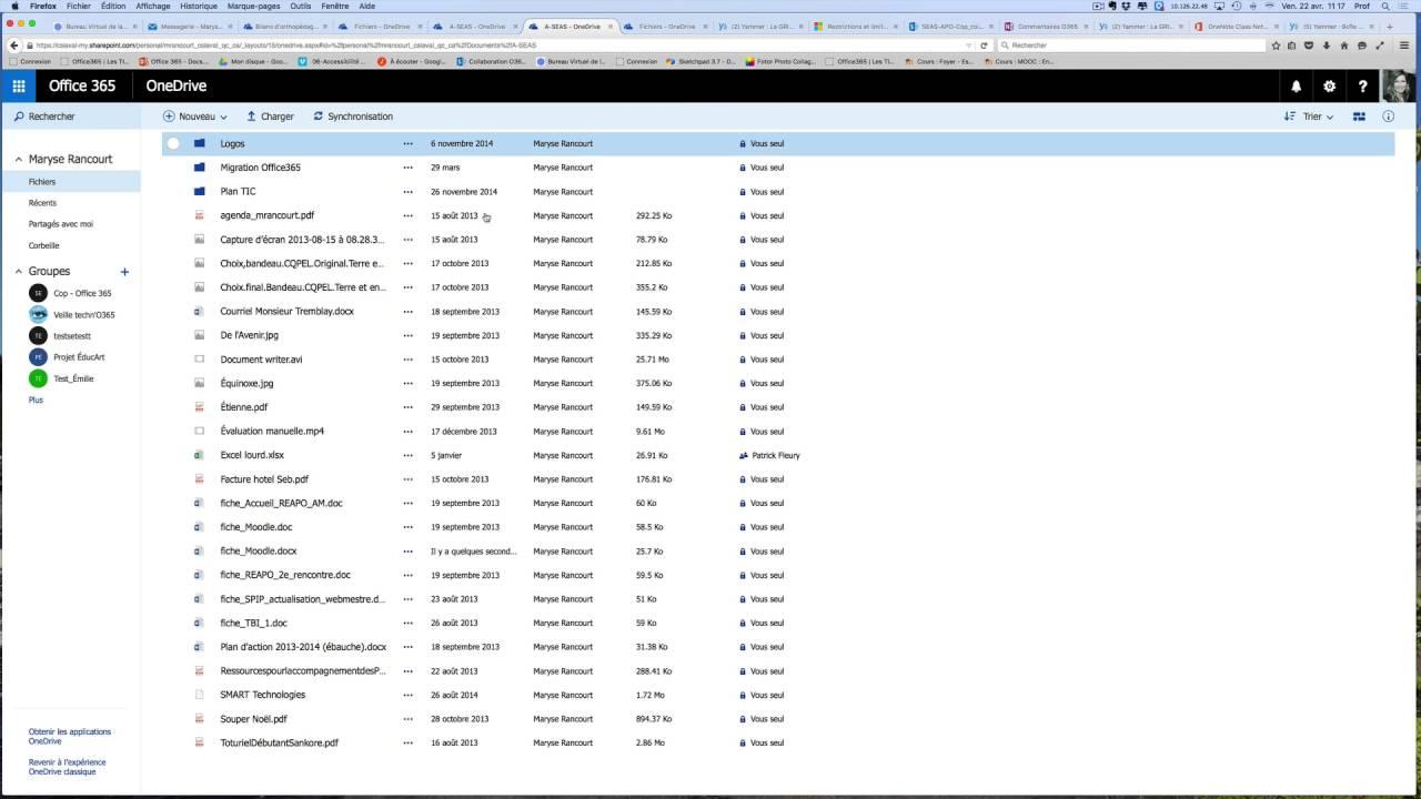 Ouvrir et stocker un document word avec outlook office365 - Ouvrir document open office avec word ...