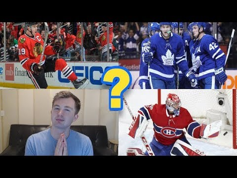 CAN A COMPUTER GUESS MY FAVOURITE NHL TEAM?