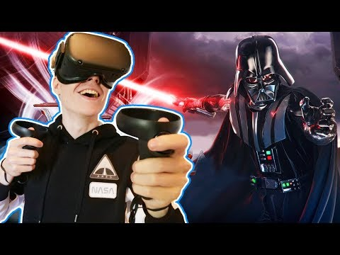 LIGHTSABER FIGHT WITH DARTH VADER | Star Wars: Vader Immortal - Episode 3 (Oculus Quest VR Gameplay)