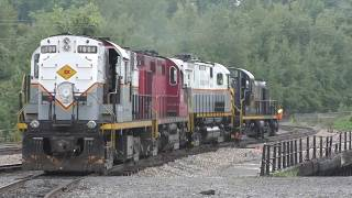 Labor Day Action in Steamtown! Feat: DL&W ALCO MADNESS :)