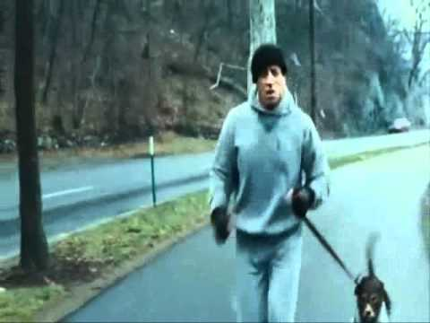 Rocky Balboa Cena De Treino