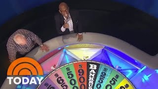 Al Visits 'Wheel of Fortune' With Pat And Vanna | TODAY
