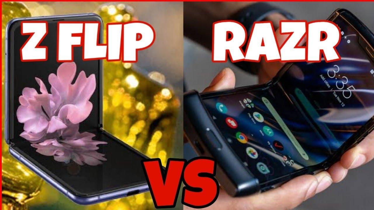 SAMSUNG GALAXY Z FLIP VS MOTOROLA RAZR - WHICH ONE IS BETTER?