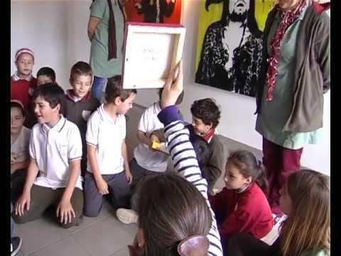 Campaña de Sensibilización Artística del colegio Olivos 2012