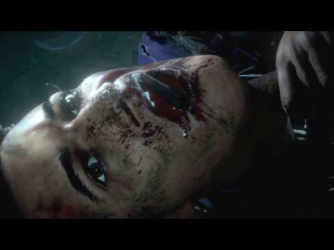 Смерть в Until dawn (дожить до рассвета) -  Мэтт пытается спасти Эмили