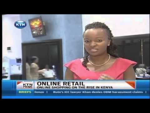 Online shopping on the rise in Kenya