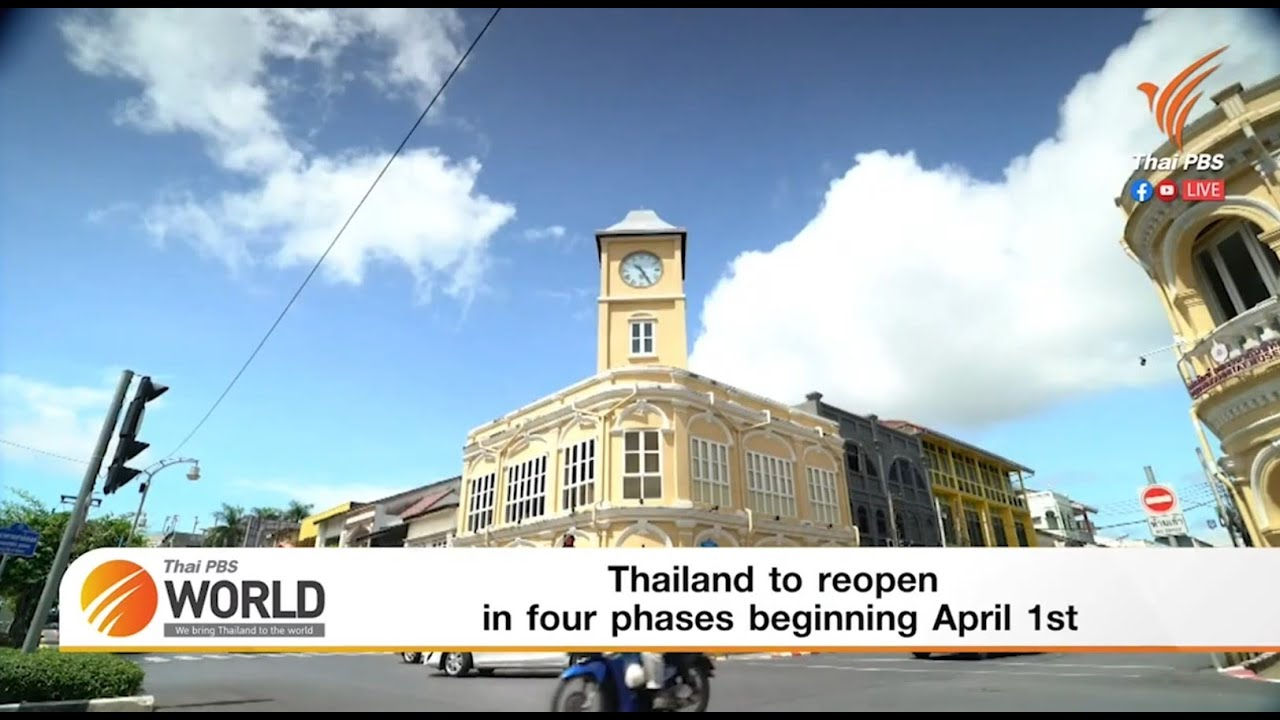 Thailand wird ab dem 1. April in vier Phasen wiedereröffnet