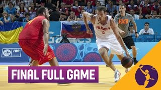 Russia v Spain - Men's Final Full Game - 3x3 Basketball - 2015 European Games - Baku