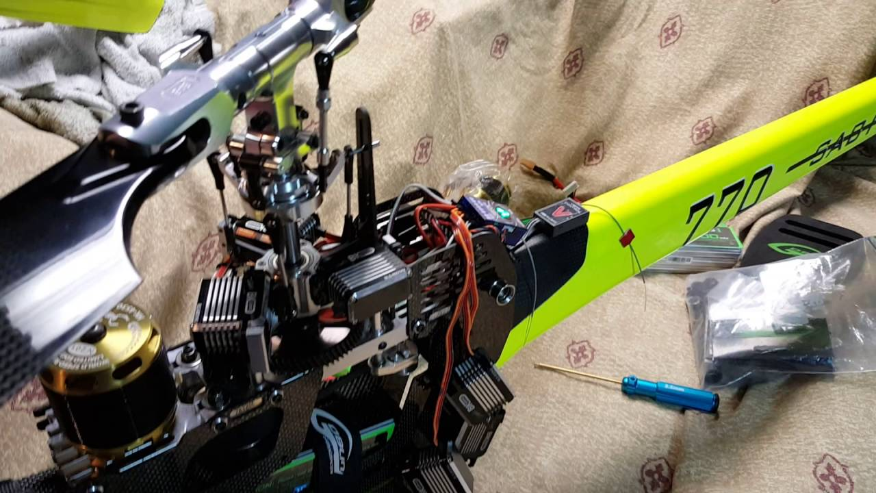 Vbar NEO (with v-link) works with BK 8002 servos