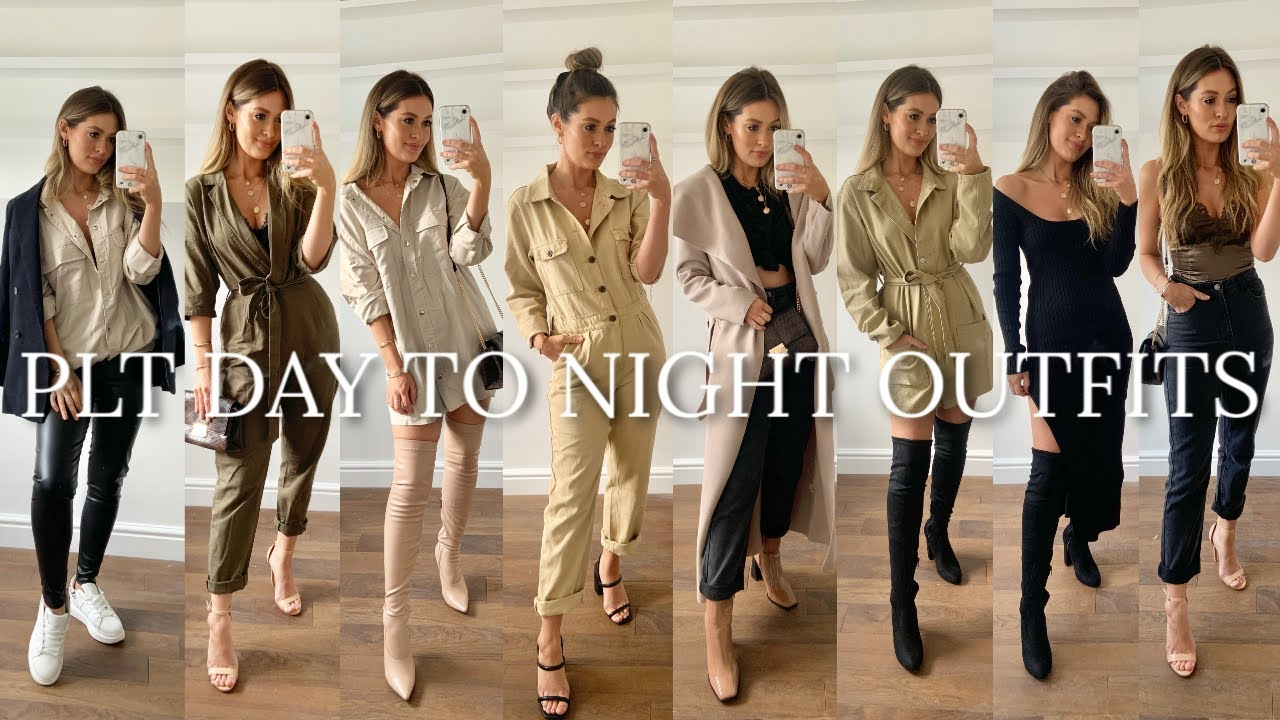 [VIDEO] - AUTUMN WINTER DAY TO NIGHT PLT OUTFITS | MODEL MOUTH | AD | PRETTY LITTLE THING HAUL 9