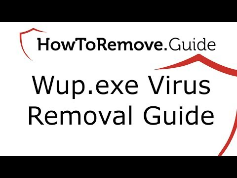 How to Remove Wup.exe Virus