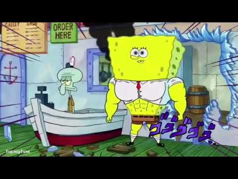 spongebob muscle bob buff