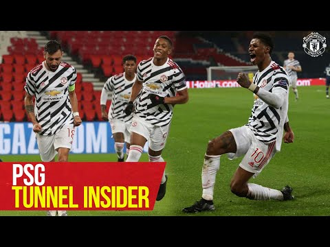 Tunnel Insider | PSG 1-2 Manchester United | Solskjaer, De Gea, Rashford, Tuanzebe | SOUND ON!