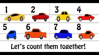 Learning Counting | Count to 10 | Counting to 10 | Toddler Videos | Videos for Kids