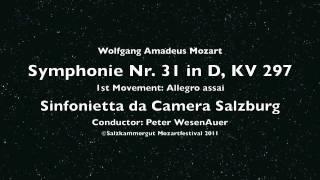 Mozart: Symphonie Nr. 31 (Pariser) 1st Movement