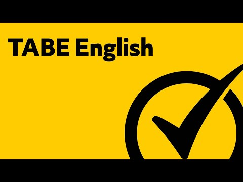 Free TABE Test English Study Guide
