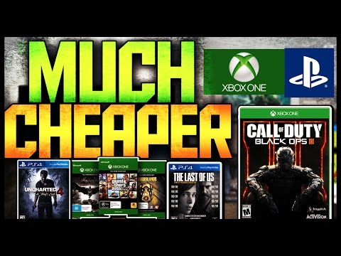 How to Get XBOX ONE/PS4 Games a LOT Cheaper 2016 [Tutorial]::