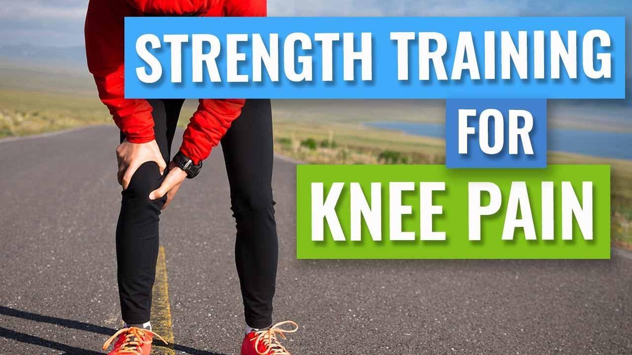 Knee Pain Strength Training - YouTube