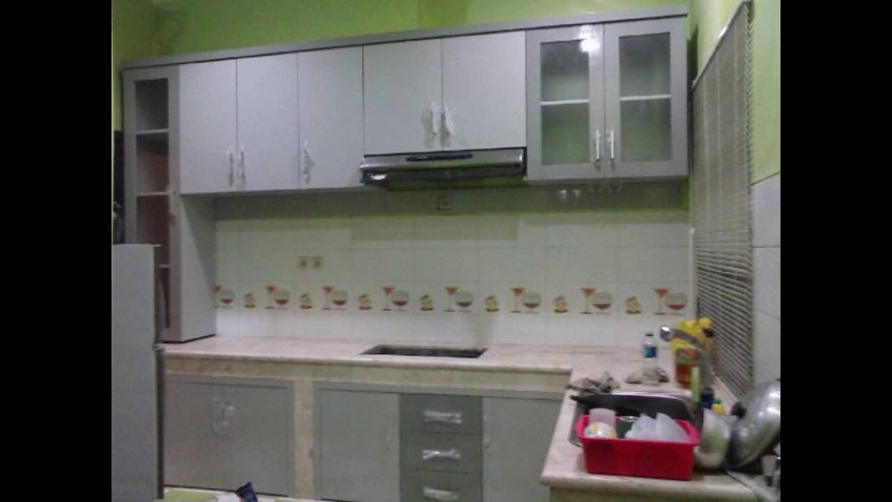 Cara membuat lemari dapur kitchen set sendiri youtube for Pemasangan kitchen set