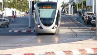 Trams in Rabat, Morocco, Africa