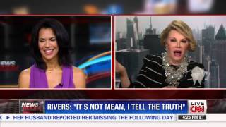 Joan Rivers Slams CNN Host, Walks Off