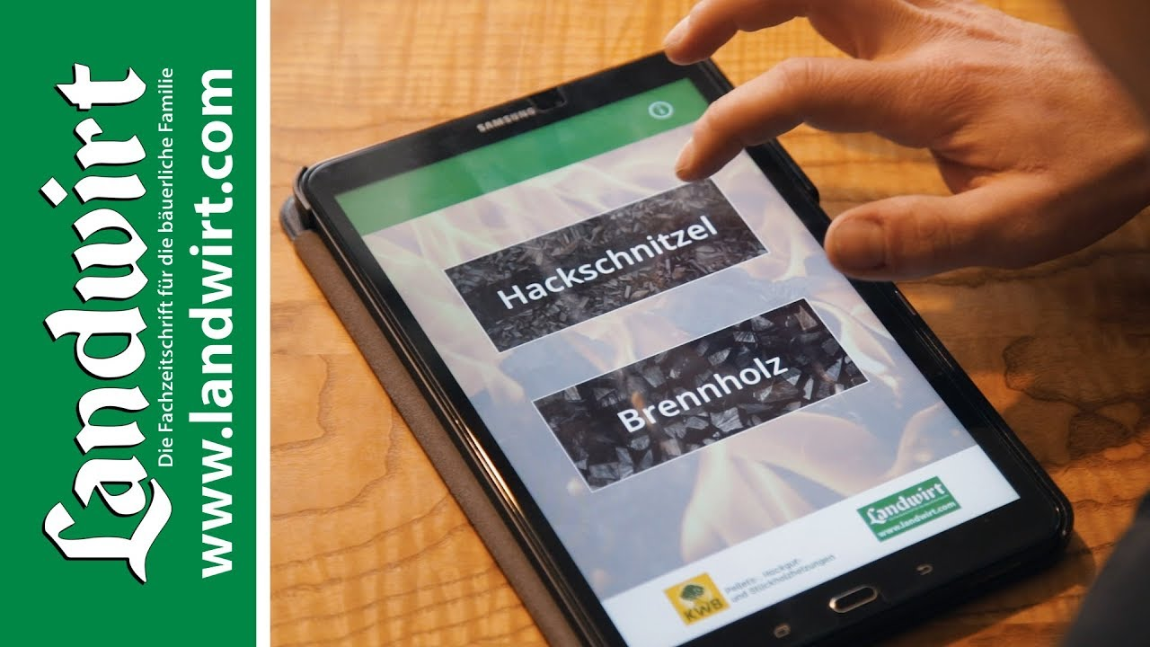 Holzpreis Fair Berechnen Mit Der Heizwert App Landwirtcom Youtube