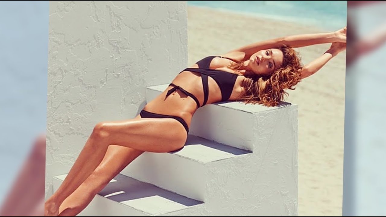 Miranda Kerr Gets All Tied Up In Racy Swimsuit Shoot - Youtube-8554